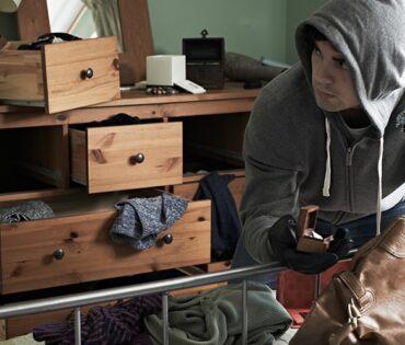 Burglar break in