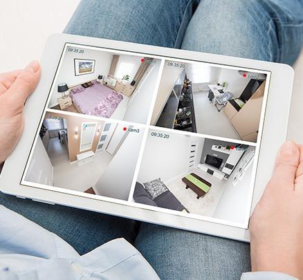 Smart home CCTV protection